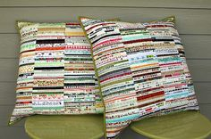 Selvage Pillows