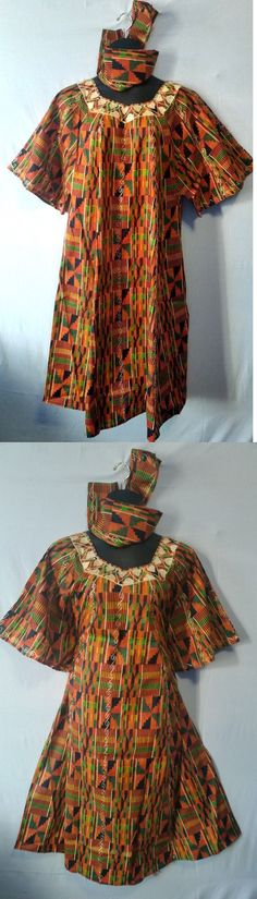 6d3b9c7bac5 Africa 155241  Women S Dashiki Clothing African Traditional Kente Dress  Ethnic Set Plus Size -  BUY IT NOW ONLY   34.99 on eBay!