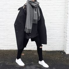 OVRSLO in an Isabel Marant Jacket, Acne Studios scarf & Common Projects shoes.  #ovrslo #commonprojects  #isabelmarant #acnestudios