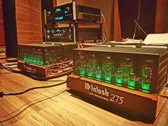 McIntosh 275 50th Anniversary                                                                                                                                                                                 More Audiophile Speakers, Hifi Audio, Wireless Speakers, Hi Fi System, Audio System, Fi Car Audio, Speaker Amplifier, Dj Setup, Audio Room