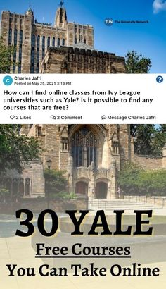 Click to take free courses from Yale and other Ivy League schools! College Packing, College Hacks, Ivy League Universities, Ivy League Schools, Student Discounts, Free Courses, College Students, Mount Rushmore, Blogging