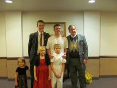 Maddy, Kylee, Elijah, Elder Bishop, Elder Debenham and me