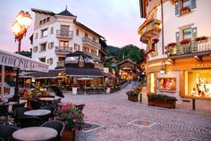 Beautiful shops and