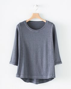 Poetry Fashion - Hemp and cotton jersey top