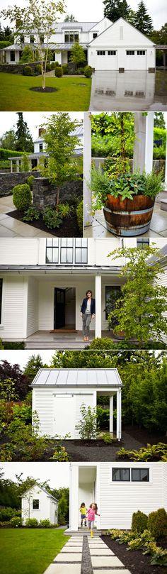 modern farmhouse in Washington