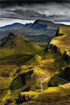 Trotternish Ridge, Isle of Skye, Scotland.