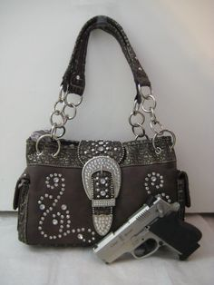 Concealed Carry Purses... in my style, too: Western Bling!