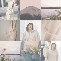 Jin BTS moodboard kpop aesthetic