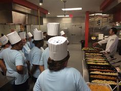 A culinary boot camp is teaching cafeteria workers how to make school lunch in a way that they never imagined.