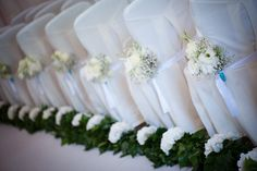 Beautiful aisle decoration (Flowers: Florelie) - Destination Wedding in Mallorca, Spain from Claire Morgan Photography