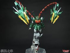 GUNDAM GUY: P-Bandai Exclusive: MG 1/100 Gundam Altron - Customized Build