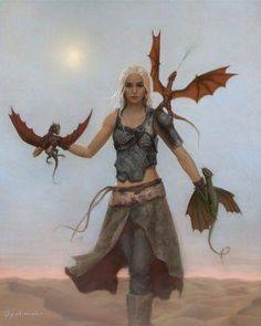 Kaleesi. Mother of Dragons