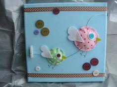 """Tableau déco chambre bébé """"Les oiseaux"""" - bébé - Un tableau pour déco - Fait Maison"""