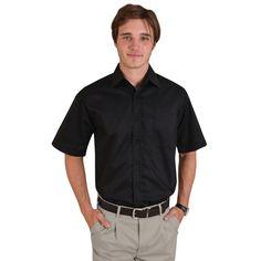Show details for Classic Woven Shirt Short Sleeve Shirt Blouses, Shirts, Shirt Store, Button Down Shirt, Men Casual, Classic, Sleeves, Mens Tops, Fashion