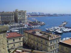 italy naples   Naples Italy Harbor