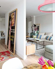 Mix and Chic: Home tour- A bright and airy Madrid apartment.