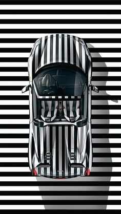 #Black,Car,striped,#white,#white stripes #Black and #white Striped car…. - http://sound.saar.city/?p=39747
