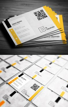 Professional Business Card - forget the QR code and create a business card that uses LinkReader!