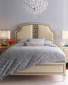 """""""Carlton"""" Bedroom Furniture at Horchow."""
