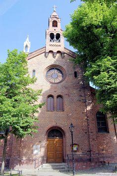 Unique BERLIN St Marien von Behnitz die lteste kath Kirche im historischen Stadtkern von Spandau in N he der Spandauer Zitadelle