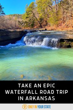 Enjoy some of the best and most beautiful waterfalls in Arkansas on this unique road trip. The scenic trip will take you to stunning waterfalls, including one you can drive under! Places To Travel, Travel Destinations, Places To Visit, Arkansas Waterfalls, Arkansas Vacations, Ozark National Forest, Natural Bridge, Beautiful Waterfalls, Haunted Places