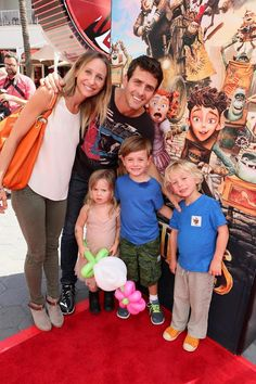 """AND FOCUS FEATURES To Benefit the Imagination Foundation Barrett Williams and Joey McIntyre seen at """""""