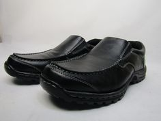 bfb333db4d65 Eastland Women s Tracie 10 M Black Leather
