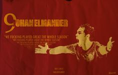 "Johan Elmander ""We fucking played great the whole season..."""