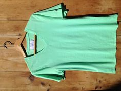 Mint. 100% Supima Cotton. Made in America. $25.00.