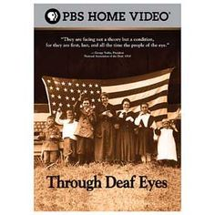 Through Deaf Eyes: two-hour HDTV documentary that explores 200 years of Deaf life in America. The film includes interviews with prominent members of the Deaf community, including actress Marlee Matlin & Gallaudet University president emeritus I. King Jordan. Interwoven throughout the film are six short documentaries produced by Deaf media artists and filmmakers.