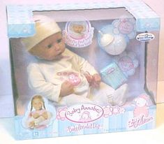 ZAPF INTERACTIVE BABY ANNABELL DOLL Mini Things, Cool Things To Buy, German Toys, Zapf Creation, Doll Games, Games For Boys, Zeina, Age Regression, Japanese Snacks