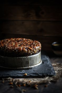 No-bake Turtle Upside-down Cake
