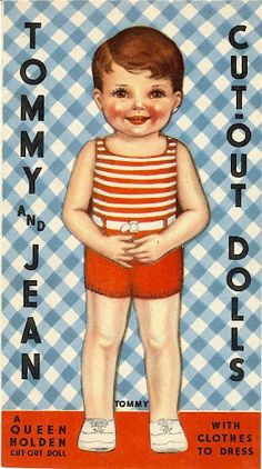 Paper Dolls~Tommy & Jean - Bonnie Jones - Picasa Web Albums