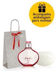 Presente Natura Biografia Desperte - Desodorante Colônia + Sabonete em Barra + Embalagem