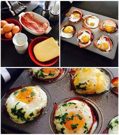 Pečené vejce v šunkovém hnízdě , Foto: Klára Michalová