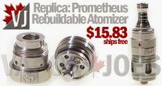 Replica: Prometheus Rebuildable Atomizer