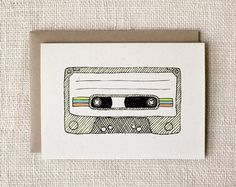 mixtape card | Wit & Whistle
