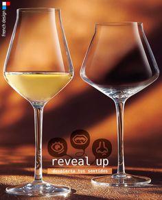 REVEAL UP, una sofisticada copa resistente y delicada. #Copa diseñada por #Chef&Sommelier para #degustar los mejores #vinos. Modelos SOFT (para #tintos y #blancos) e INTENSE (vinos potentes). Disponibles desde 2,97€/unidad en http://www.tiendacrisol.com/tienda.php?Id=3249