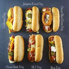 Gourmet Hot Dog Ideas