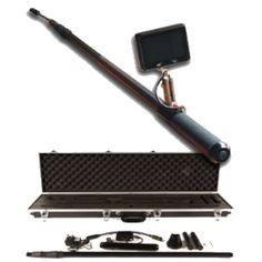 http://endoskop.se/inspektionskamera-r33930/ovriga-instrument-r47441/teleskopisk-inspektionskamera-58-2198-r47449  Teleskopisk inspektionskamera  Bärbar vattentät teleskopiskt video-system med inbyggda högeffekts lysdioder som gör att inspektioner av svåråtkomliga, dolda fel enkelt att kontrollera och dokumentera i exempelvis  rännor, brunnar och tak, båtsrov och under bilar.     Satsen innehåller  1 x väska, 1 x 22mm svanhals kamera huvud, 1 x 3meter teleskopstång, 1 x handtag...