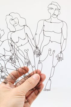 Shelli Markee: Naked Wire People Bookmarks