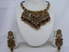 Navratri hand crafted antique Golden Oxidized finish by mfussion, $20.00