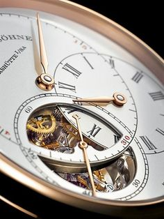 A. LANGE & SÖHNE Time - Watch - Mens Fashion - Style  pinterest.com/pinsbychris