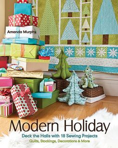 Modern Holiday quilting book