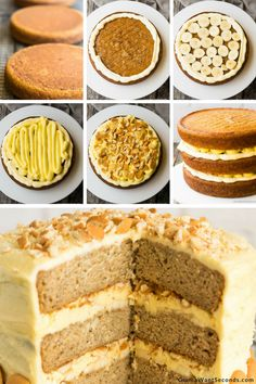 Our Banana Pudding Cake is an incredibly moist three-layer dream cake with a cream cheese pudding filling, lots of bananas, and a luscious frosting. Ripe Banana Recipe, Homemade Banana Pudding, Best Banana Pudding, Banana Pudding Recipes, Pudding Ideas, Cake Filling Recipes, Cake Recipes From Scratch, Pound Cake Recipes, Frosting Recipes