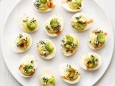 Blue Deviled Eggs Recipe : Food Network Kitchen : Food Network