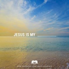 Protector, provider, healer...who is Jesus to you?