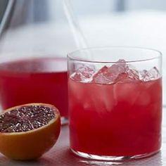 SHED's Blood Orange Champagne Vinegar Shrub Recipe
