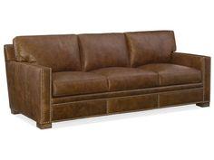 Hooker Furniture | Hooker Furniture Model SS379 Leather Jax Sofa
