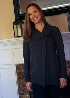 Kensie Mally Ponte Jacket Stitch Fix October 2015, I know I have no outerwear checked but I would LOVE this in my next box!